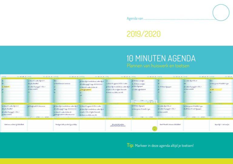 10 minuten agenda Bijles